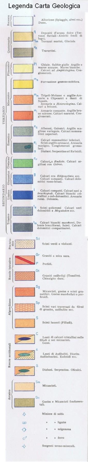 Carta Geologica Cortese 1934: www.luniversoeluomo.org/geolog/calabr/cortese/1-leg.htm