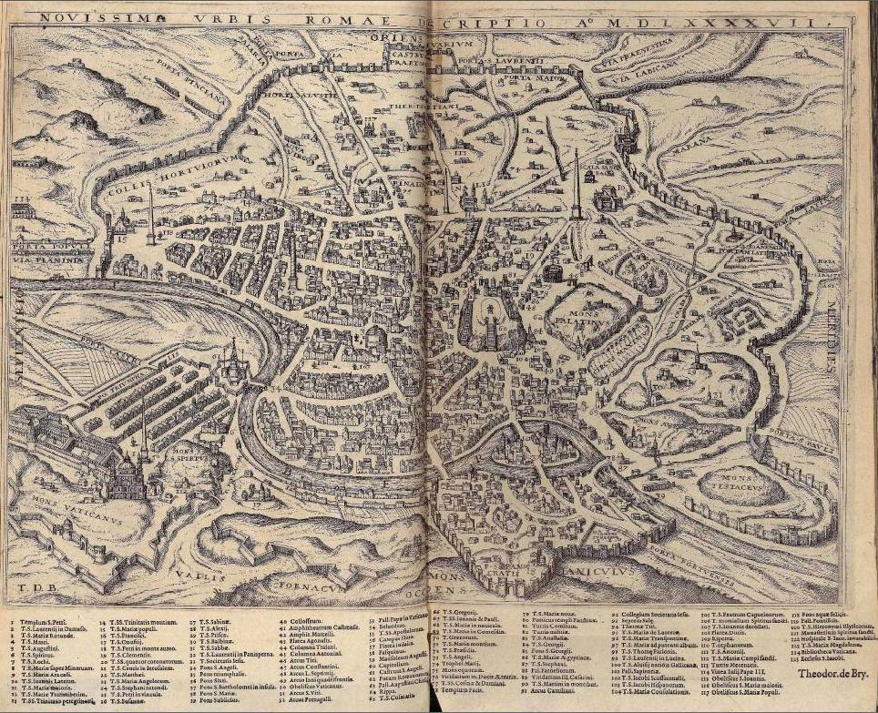 Cartina Antica Roma.Cartografia Storica Di Roma E Provincia